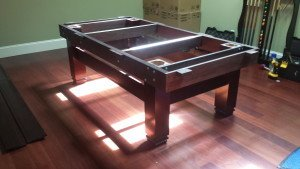 Pool and billiard table set ups and installations in Fitchburg Wisconsin
